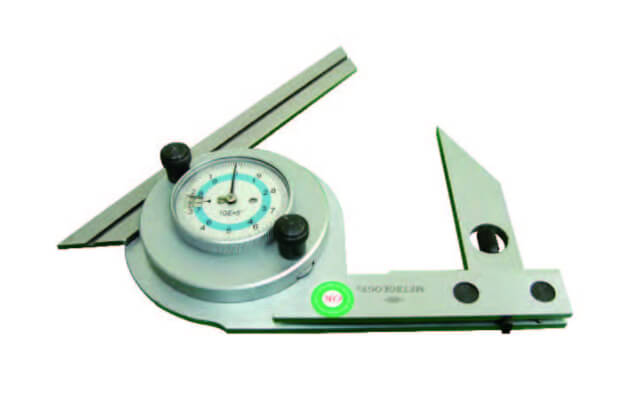 Thước đo góc xiên vạn năng đồng hồ Metrology UA-9000D