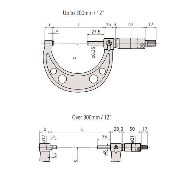 Panme đo ngoài cơ khí Mitutoyo 103_3