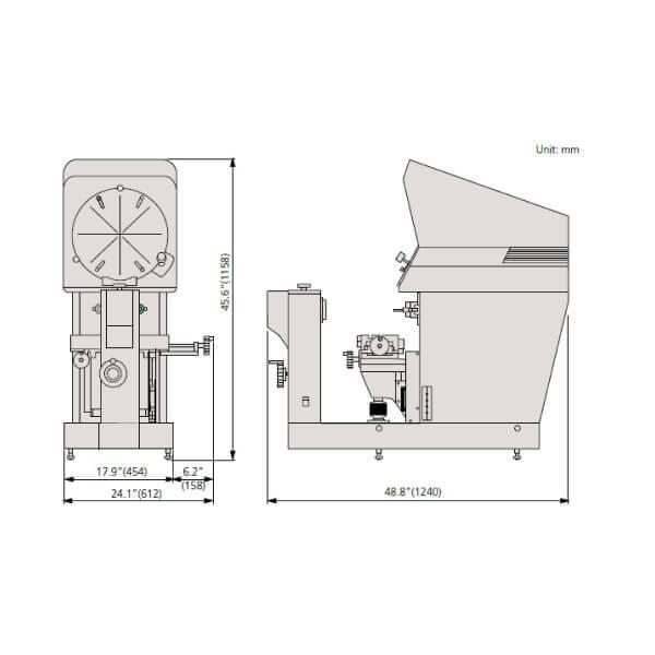 Máy chiếu biên dạng Mitutoyo PH-A14_2