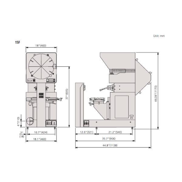 Máy chiếu biên dạng Mitutoyo PH-3515F_2