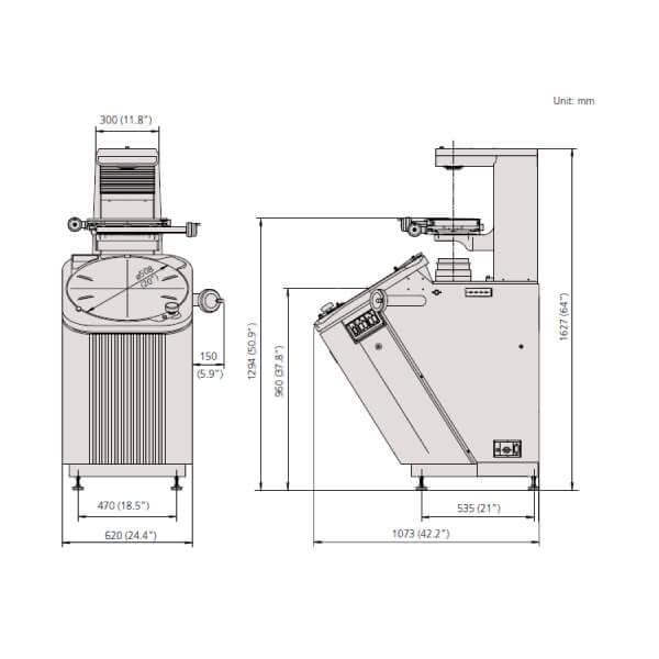 Máy chiếu biên dạng Mitutoyo PV-5110_2