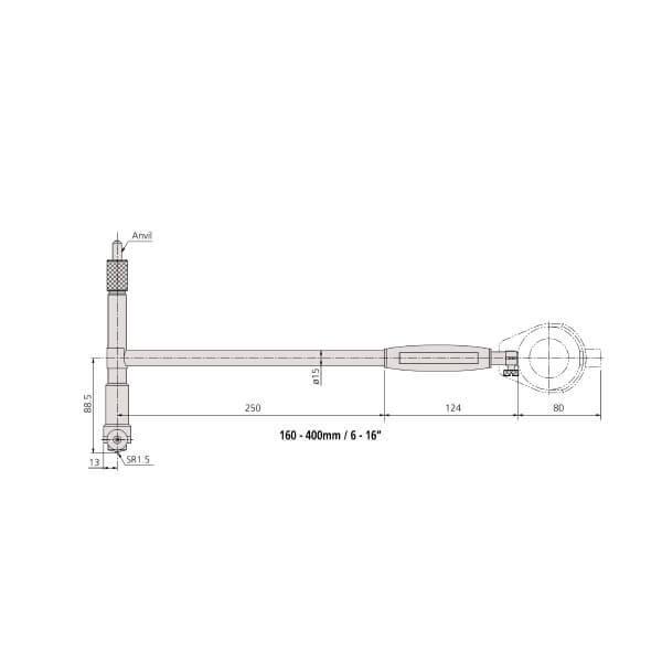 Đồng hồ đo lỗ loại tiêu chuẩn Mitutoyo Series 511_4