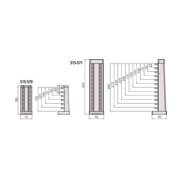Khối chuẩn panme đo sâu Mitutoyo Series 515_2