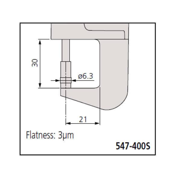Dụng cụ đo độ dày điện tử Mitutoyo Series 547_3