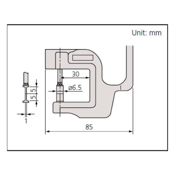 Dụng cụ đo độ dày điện tử Mitutoyo Series 547_4
