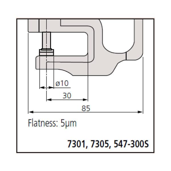 Dụng cụ đo độ dày cơ khí Mitutoyo Series 7_2