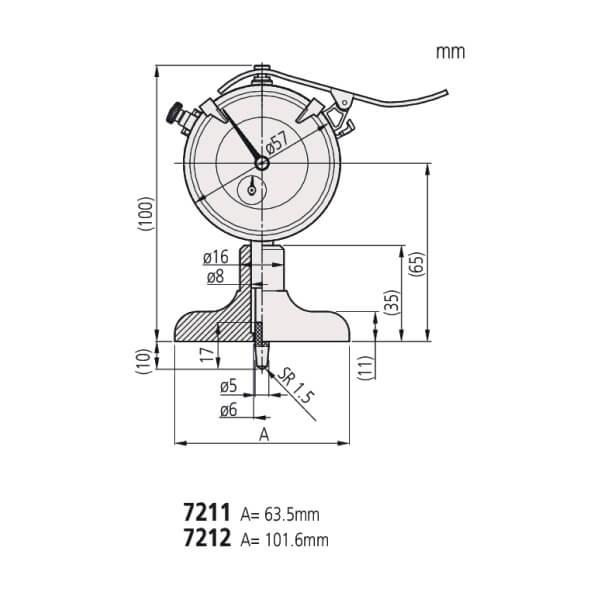 Đồng hồ đo sâu ABSOLUTE Mitutoyo Series 7_2
