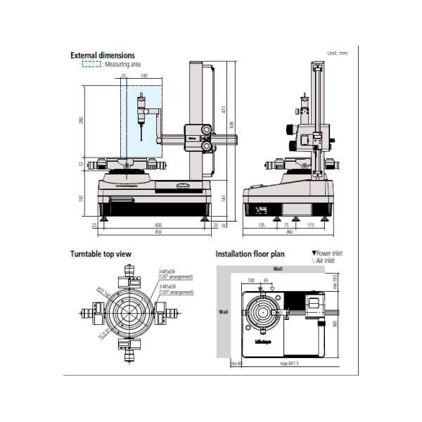 Máy đo độ tròn Mitutoyo RA-120/120P_3