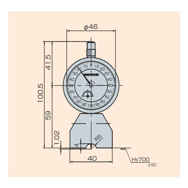 Đồng hồ đo sâu Peacock T Series_6