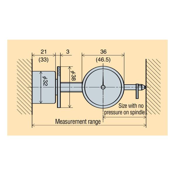 Đồng hồ đo lỗ trong Peacock U series_2
