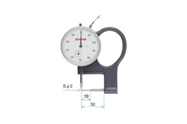 Đồng hồ đo độ dày ống Peacock