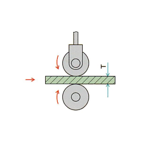 Đồng hồ đo độ dày dạng con lăn Peacock_3