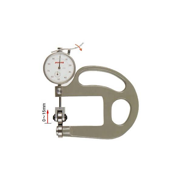 Đồng hồ đo độ dày dạng con lăn Peacock_0