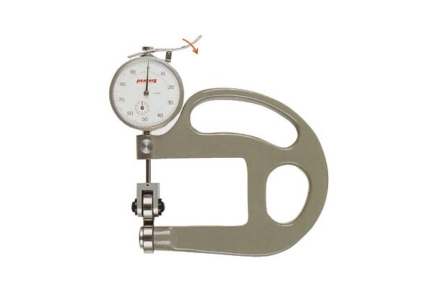 Đồng hồ đo độ dày dạng con lăn Peacock