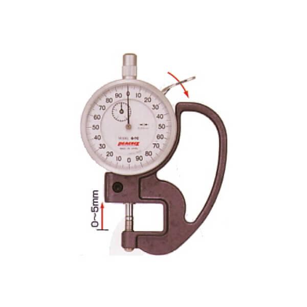 Đồng hồ đo độ dày Peacock PAT_2
