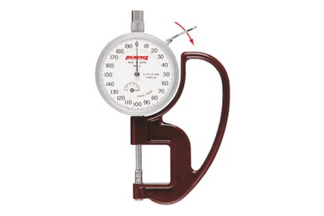 Đồng hồ đo độ dày Peacock PAT