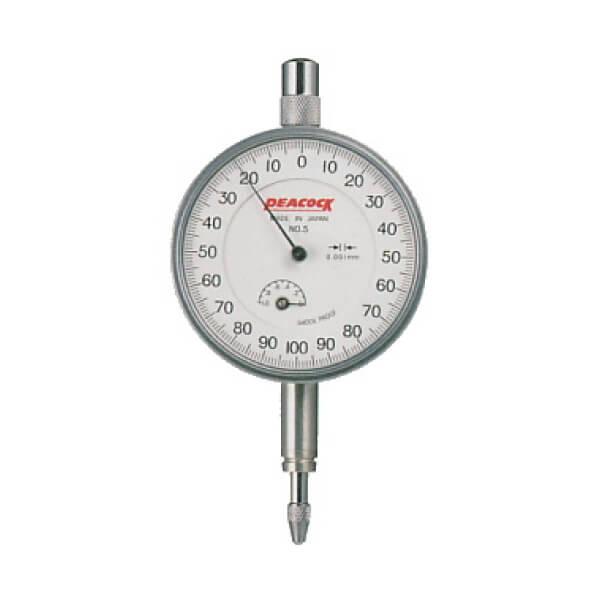 Đồng hồ so cơ khí loại tiêu chuẩn Peacock 107-SWA