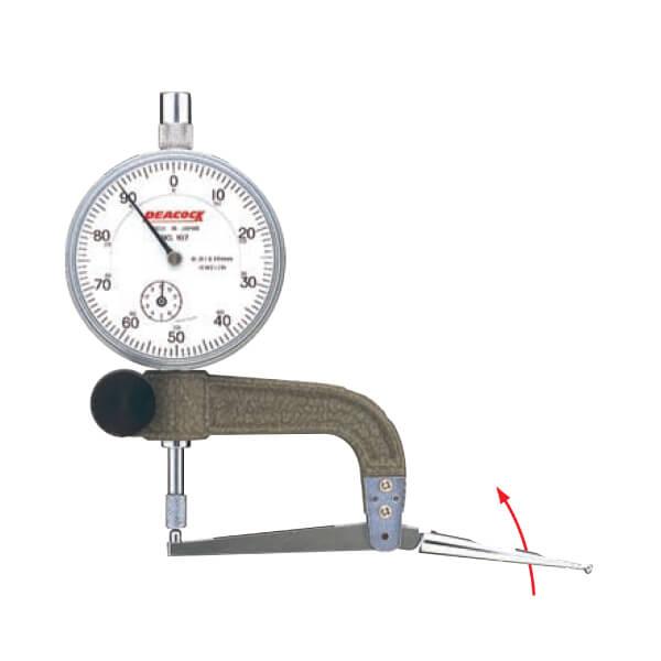 Đầu đo gập Peacock XY Series_0