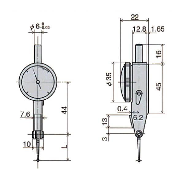 Đồng hồ so chân gập PIC TEST/NEW PIC TEST PC . PCN R series_5