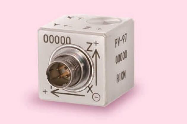 Gia tốc kế áp điện Rion PV-97
