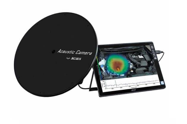 Camera hiển thị máy đo độ ồn Rion SC-AC0430-RION