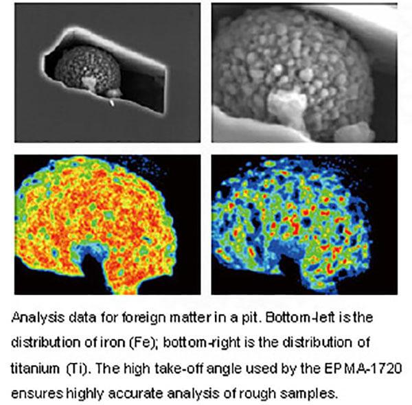 Máy phân tích vi mô đầu dò điện tử EPMA-1720_5