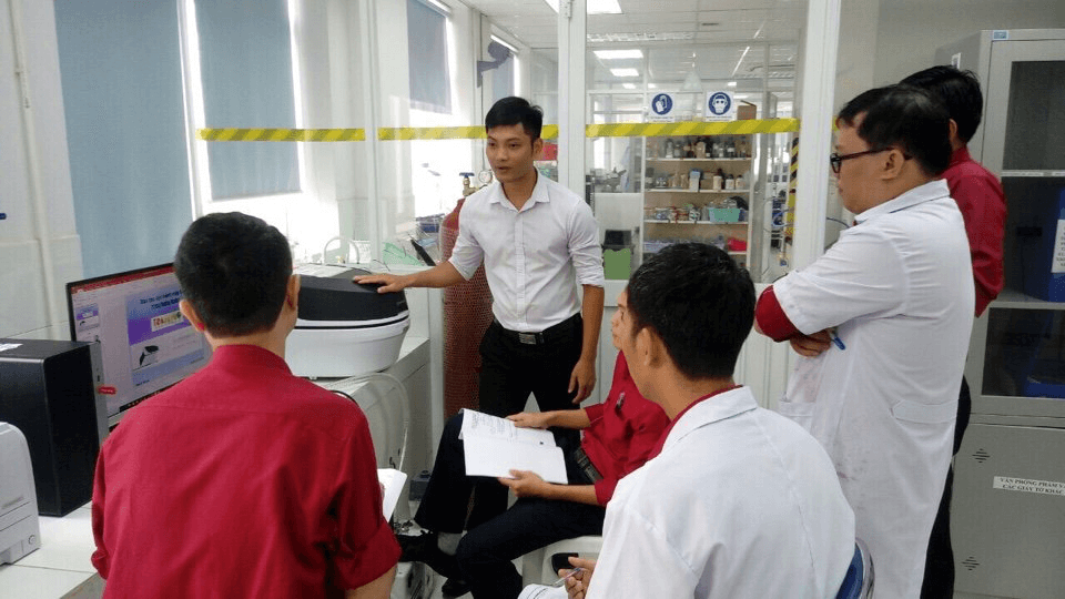 Dịch vụ đào tạo vận hành máy quang phổ huỳnh quang tia X SMZ-OTEDX