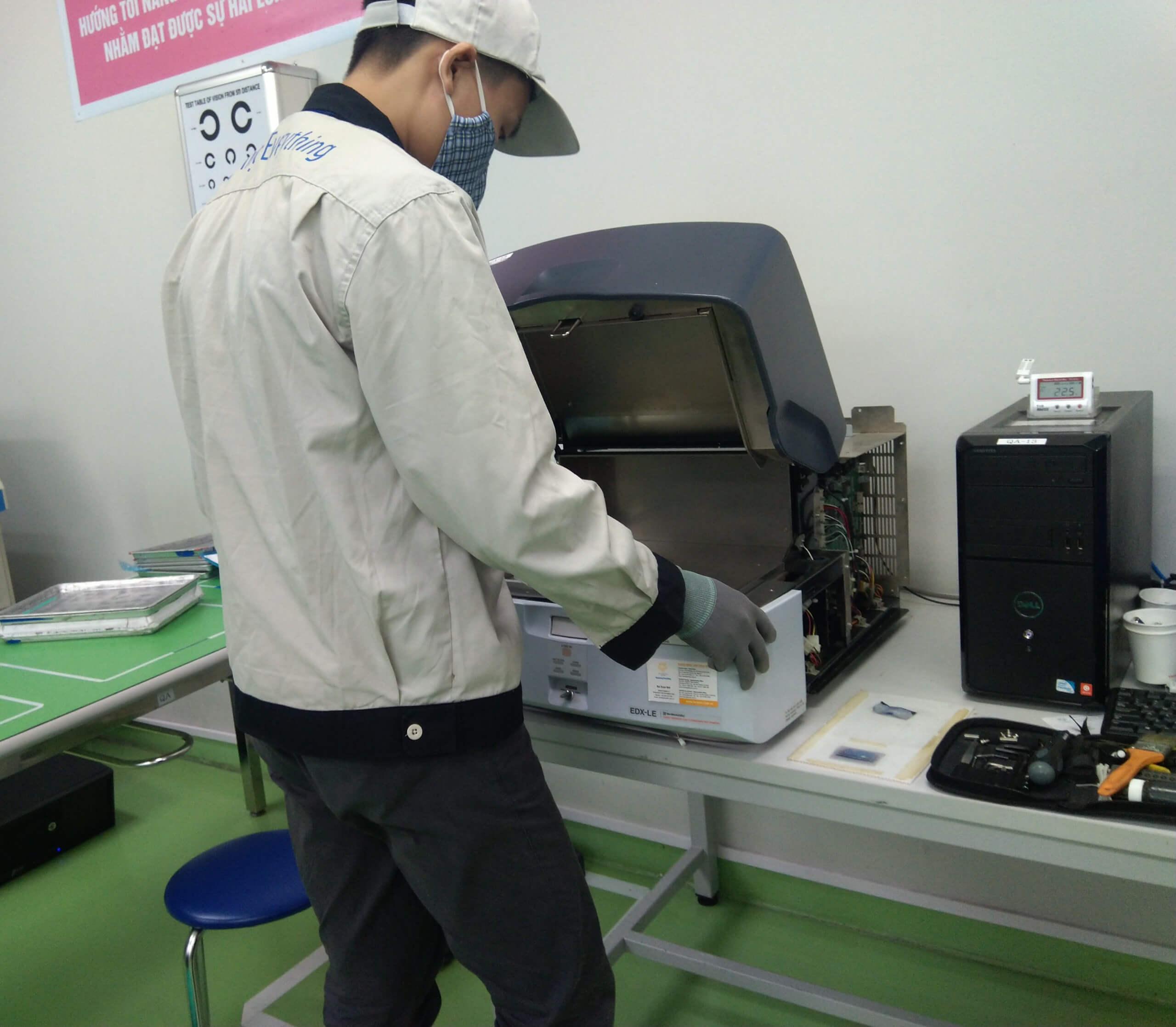 Dịch vụ bảo trì định kì máy quang phổ huỳnh quang tia X SMZ-PMEDX_2