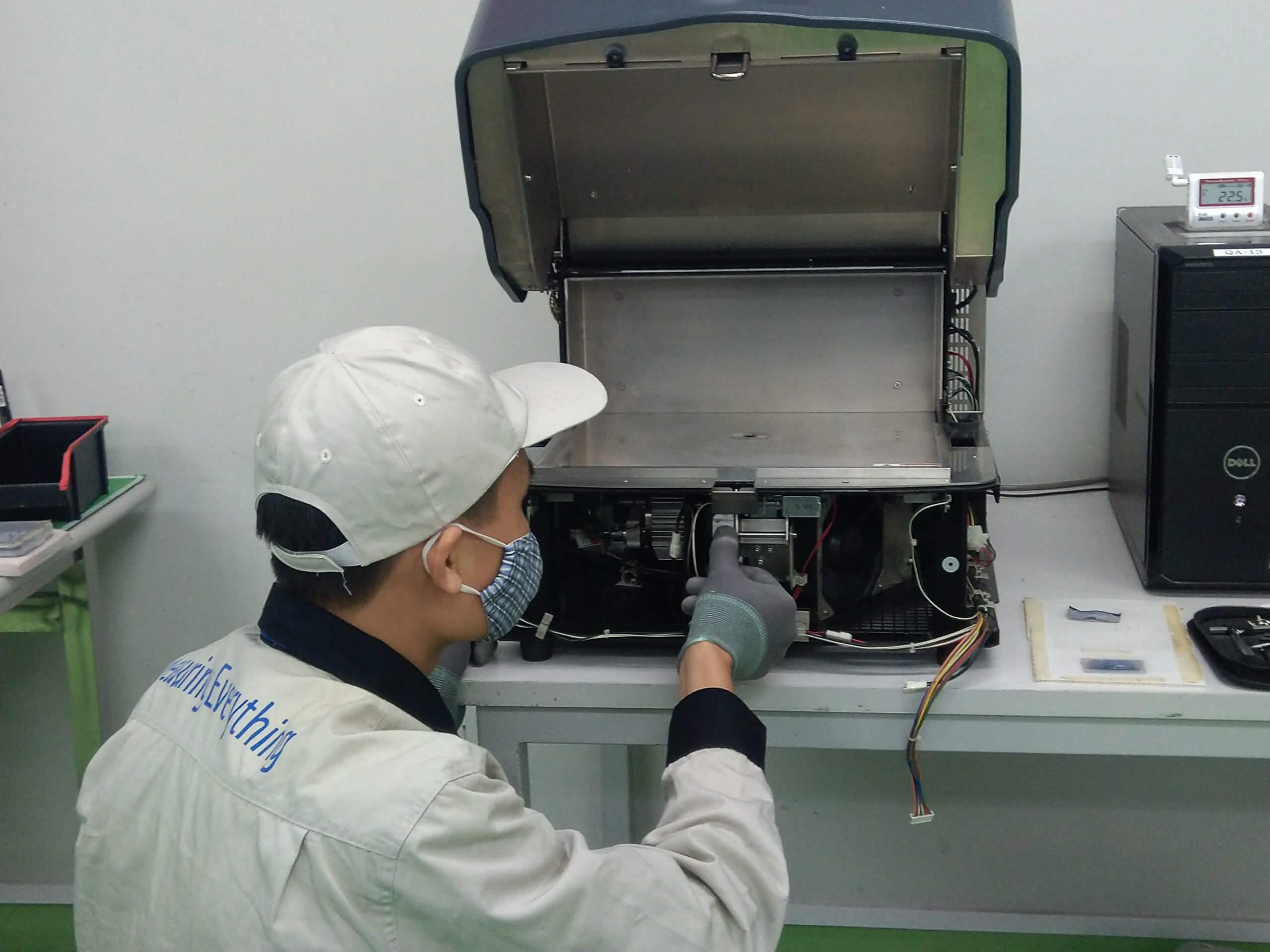 Dịch vụ hỗ trợ kĩ thuật máy quang phổ huỳnh quang tia XSMZ-TSEDX_1