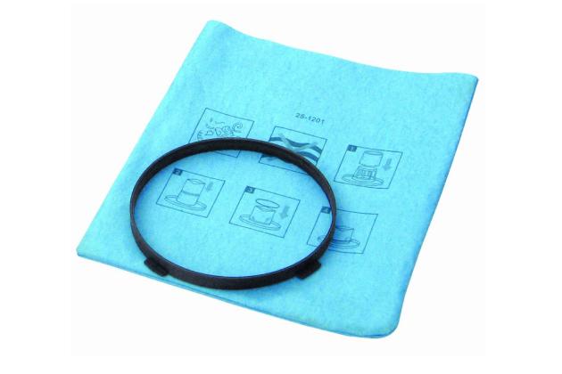 Lọc giấy và vòng giữ dùng cho máy hút bụi Stanley 19-1500N