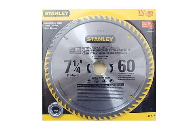 Lưỡi cưa gỗ 60 răng Stanley 20-523