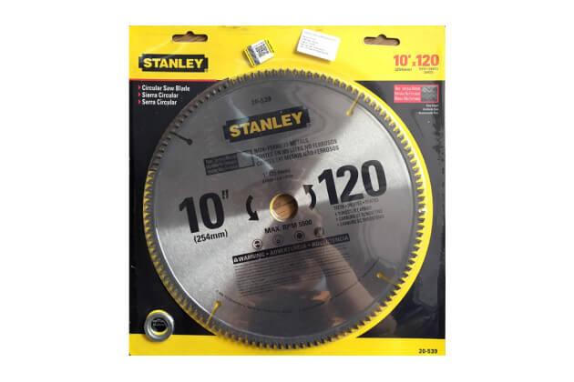 Lưỡi cưa nhôm 120 răng Stanley 20-539