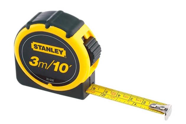 Thước cuộn thép 3m Stanley 30-608L