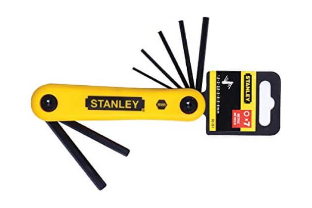 Bộ lục giác 7 chi tiết Stanley 69-261