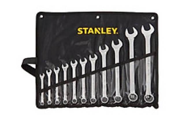 Bộ cờ lê vòng miệng 9 chi tiết Stanley 87-033-1
