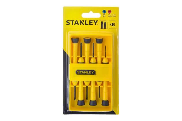 Bộ tuốc nơ vít điện tử 6 cây Stanley STHT66052-8
