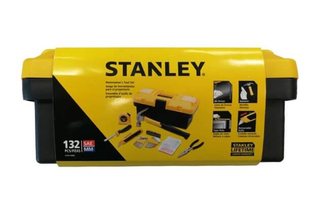 Bộ dụng cụ bằng nhựa 132 chi tiết Stanley STHT77663
