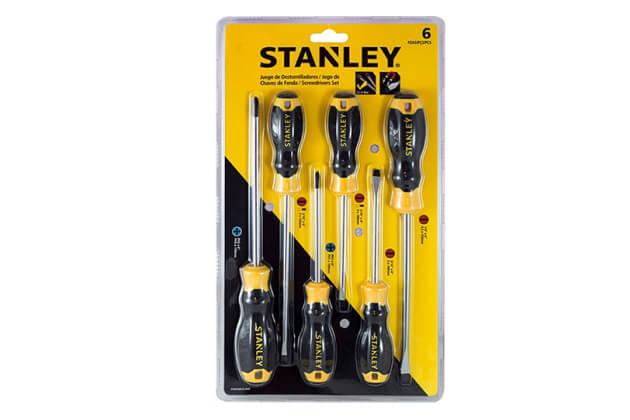 Bộ tuốc nơ vít 6 chi tiết Stanley STMT66672