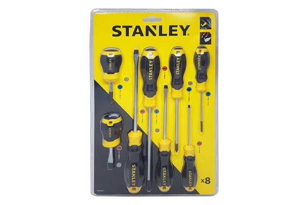 Bộ tuốc nơ vít 8 chi tiết Stanley STMT66673