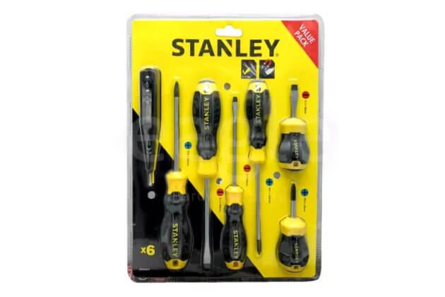 Bộ tuốc nơ vít 6 chi tiết Stanley STMT66679