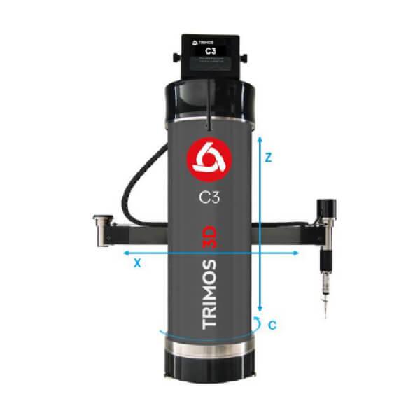 Máy CMM đầu đo không xoay Trimos C3_0