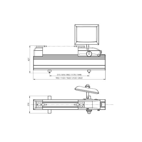 Thiết bị đo và hiệu chuẩn chiều dài vạn năng Trimos LABCONCEPT PREMIUM_0