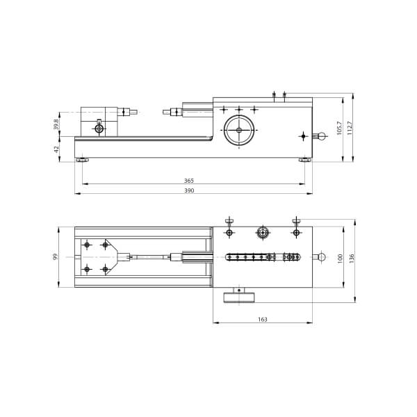 Thiết bị đo và hiệu chuẩn chiều dài Trimos TELS_2