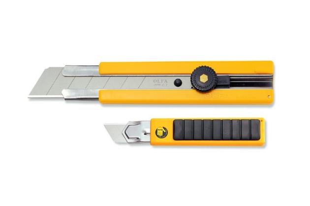 Dao cắt kỹ thuật khóa bánh cóc OLFA H-1