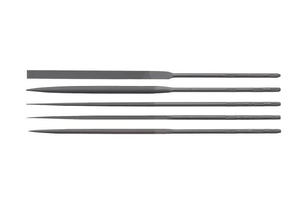Bộ giũa dẹt chính xác 5 cái Tsubosan HI00553T