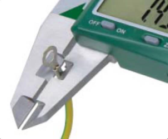 Thước kẹp điện tử đo nếp gấp Insize 1165
