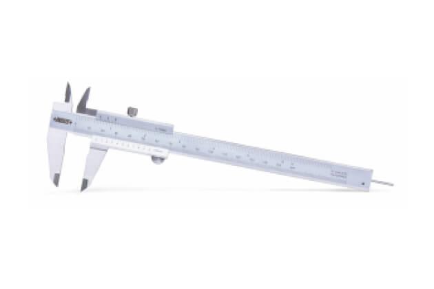 Thước kẹp cơ khí Insize 1202-150 với thanh đo sâu dạng tròn