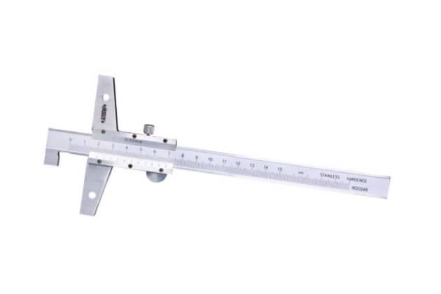 Thước đo độ sâu cơ khí loại đầu móc Insize 1248