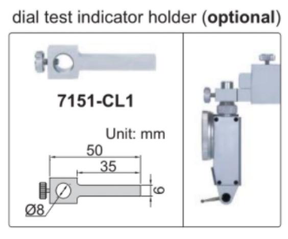 Thước đo cao cơ khí Insize 1253