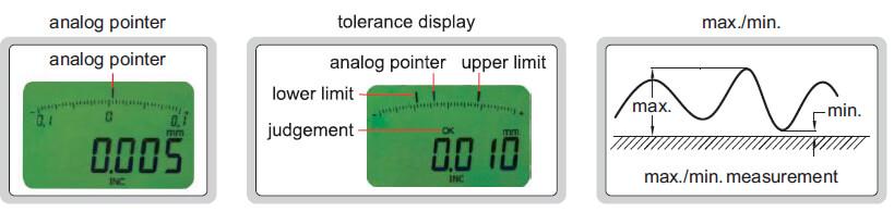 Compa điện tử đo trong Insize 2121